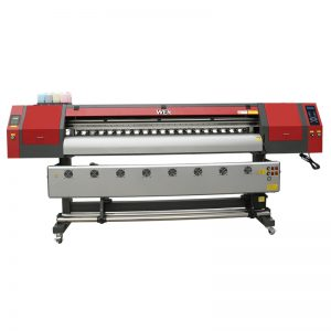 Imprimante à sublimation thermique de format 1,8 m avec trois têtes d'impression DX5 pour l'impression de t-shirts WER-EW1902
