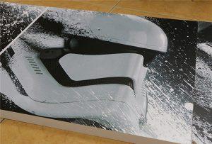Panneau d'affichage imprimé par une imprimante UV grand format WER-G2513UV