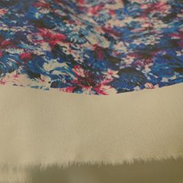 Echantillon 2 d'impression numérique du textile par l'imprimante textile numérique WER-EP7880T