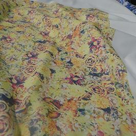 Echantillon d'impression numérique de textiles 3 par l'imprimante textile numérique A1 de WER-EP6090T