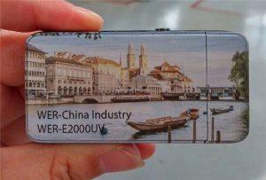 Briquet électrique a été imprimé par imprimante UV petit format A3 -WER-E2000UV