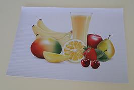 Bannière en PVC imprimée par une imprimante à solvant écologique de 3,2 m (10 pieds) WER-ES3201