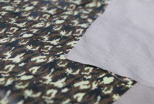 Échantillon 1 d'impression de textiles par la machine d'impression textile numérique WER-EP7880T