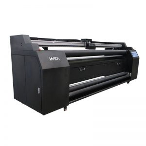 WER-E1802T 1.8m directement sur imprimante textile avec imprimante à sublimation 2 * DX5