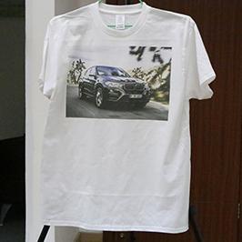 Exemple d'impression de t-shirt blanc par l'imprimante de t-shirts A3 WER-E2000T 2