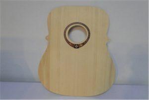 Échantillon de guitare en bois provenant d'une imprimante uv de format A2, WER-DD4290UV