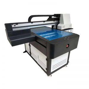 imprimante à plat UV à grande vitesse avec la taille d'impression WER-ED6090UV de lampe UV 6090 menée